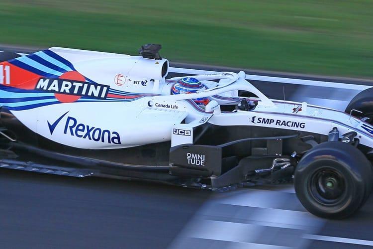 Oliver Rowland - Williams Martini Racing
