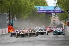2018 Paris ePrix Race Start