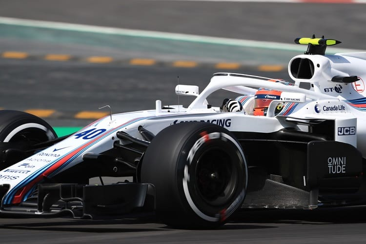 Robert Kubica - Williams Martini Racing