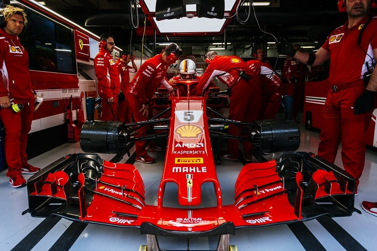 Vettel denies Ferrari sandbagging in Spain