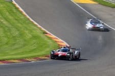 Toyota Gazoo Racing remained on top throughout the track action on Thursday.
