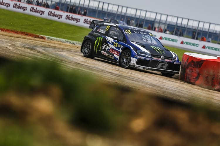 Petter Solberg - PSRX Volkswagen Sweden Polo at Silverstone