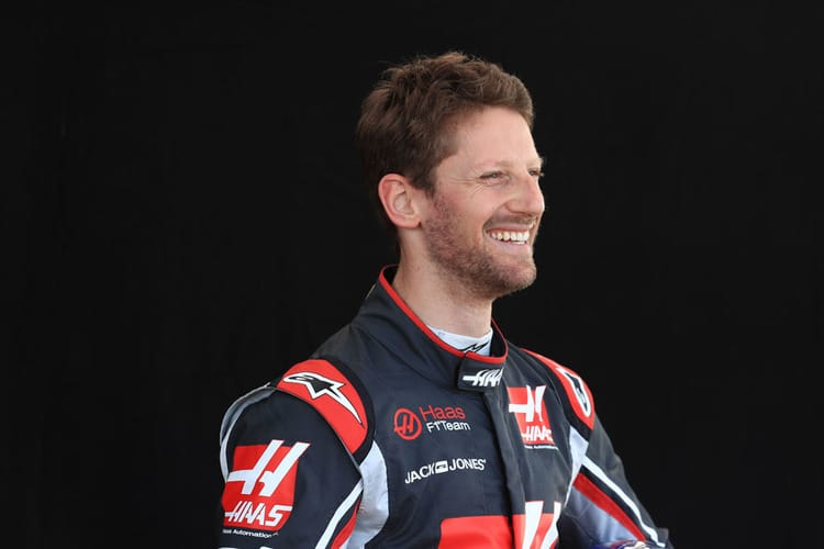 Romain Grosjean Quot The Midfield Is Very Competitive And