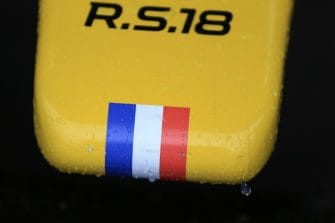 A Renault nose, complete with a little French flag at the tip