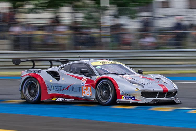 #54 Spirit of Race - Ferrari 488 GTE