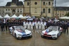 BMW M8 GTE cars at Le Mans