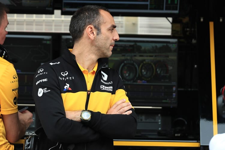 Cyril Abiteboul - Renault Sport Formula One Team