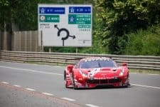 The 60-car Le Mans field ran without incident in the warm up session, as teams prepared for the prestigious endurance race.