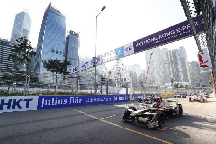 Jean-Eric Vergne, Techeetah, 2017 Hong Kong ePrix