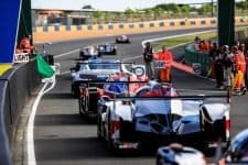 Fernando Alonso and Toyota Gazoo Racing set the pace during the 2018 Le Mans Test Day