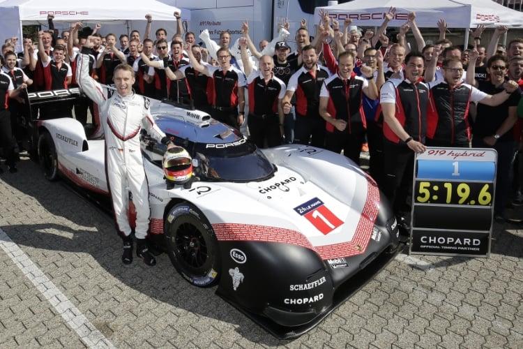Porsche 919 Hybrid Evo Team