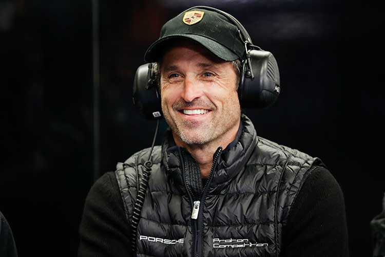 Patrick Dempsey On Dempsey Proton Gte Am Victory Its A Hollywood