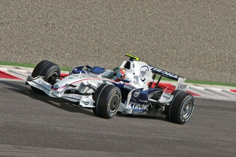 Robert Kubica - BMW Sauber F1 Team