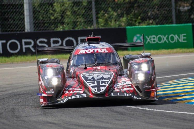 Thomas Laurent, Gustavo Menezes & Mathias Beche - Rebellion Racing