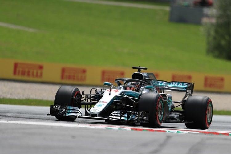 Lewis Hamilton - 2018 Austrian GP - Formula 1
