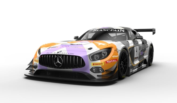 Lackierung Mercedes-AMG Team BLACK FALCON #4 Livery #4 Mercedes-AMG Team BLACK FALCON