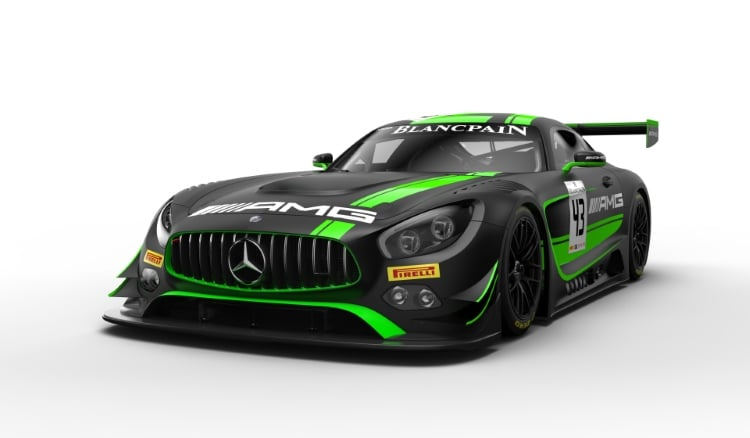 Lackierung Mercedes-AMG Team STRAKKA Racing #43 Livery #43 Mercedes-AMG Team STRAKKA Racing