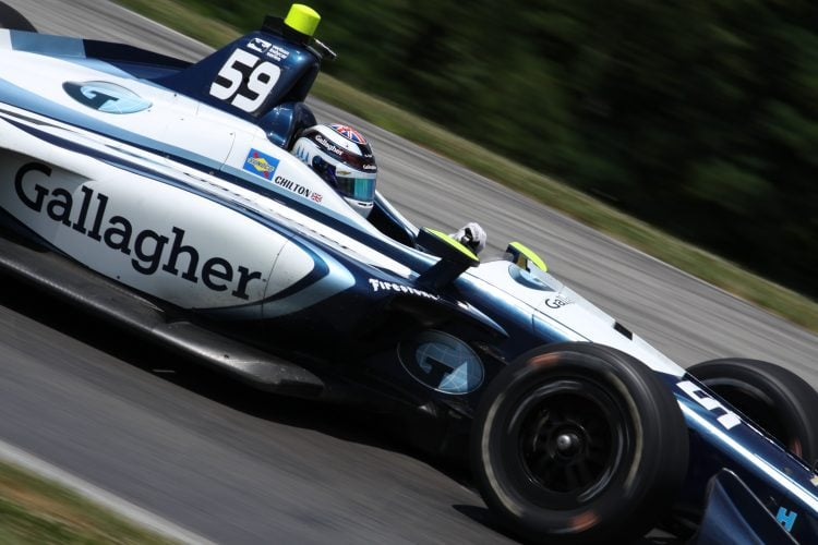 Max Chilton (GBR): Verizon IndyCar Series, Carlin, Mid-Ohio