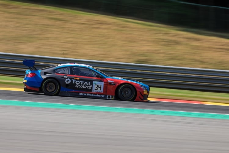 Walkenhorst Motorsport, BMW M6, GT3, #34, Phillip Eng, Tom Blomqvist, Christian Krognes, Total 24 Hours of Spa Spa Francorchamps Spa Belgium © Craig Robertson