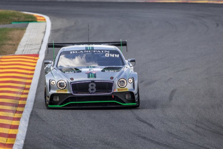 Bentley Team M-Sport, Bentley Continental, GT3, #8, Andy Soucek, Maxime Sorlet, Vincent Abril, Total 24 Hours of Spa Spa Francorchamps Spa Belgium © Craig Robertson