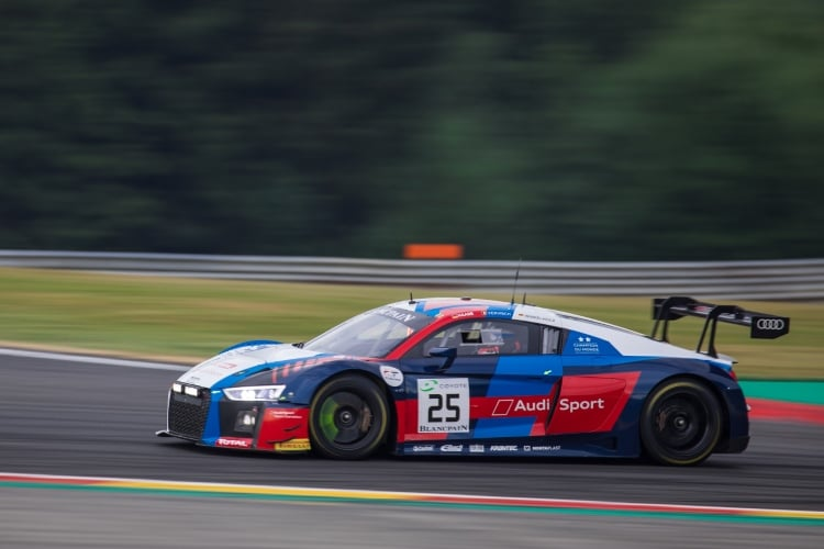 Audi Sport Team Sainteloc, Audi R8 LMS, GT3, #25, Markus Winkelhock, Christophe Haase, Frederic Vervisch, Total 24 Hours of Spa Spa Francorchamps Spa Belgium © Craig Robertson