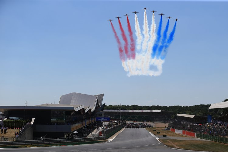Red Arrows - 2018 British Grand Prix - Silverstone