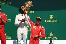 Sebastian Vettel - 2018 British Grand Prix podium