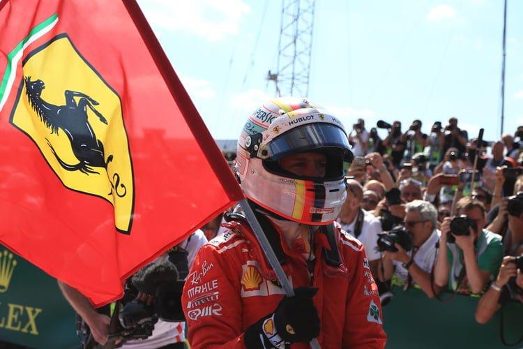 Sebastian Vettel - Silverstone 2018