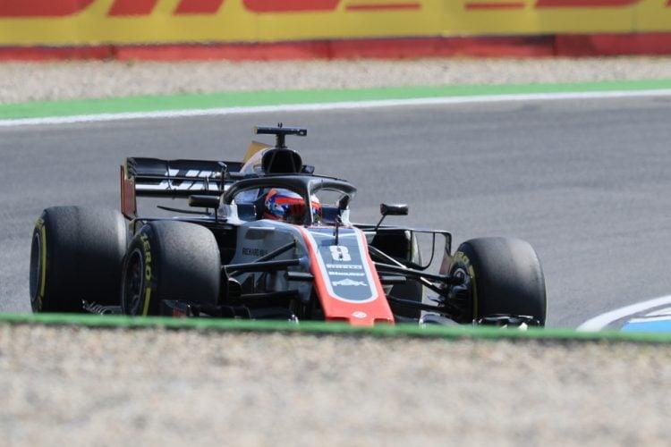 Romain Grosjean - Haas F1 Team - Hockenheimring