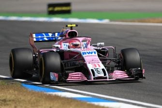 Esteban Ocon - 2018 German Grand Prix