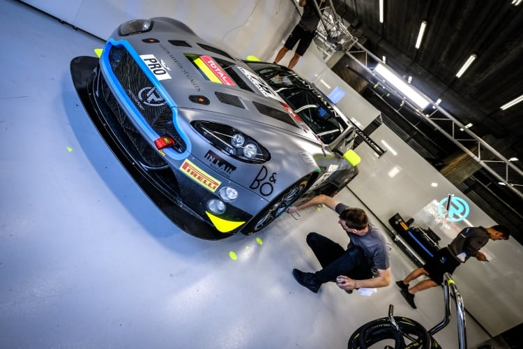 2018 24 Hours of Spa - R-Motorsport Aston Martin V12 Vantage GT3