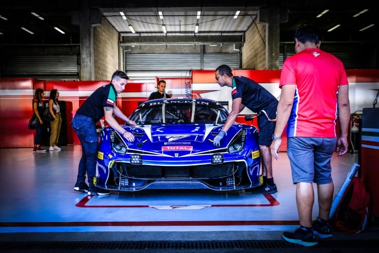2018 Blancpain GT - SMP Racing Ferrari F488 GT3