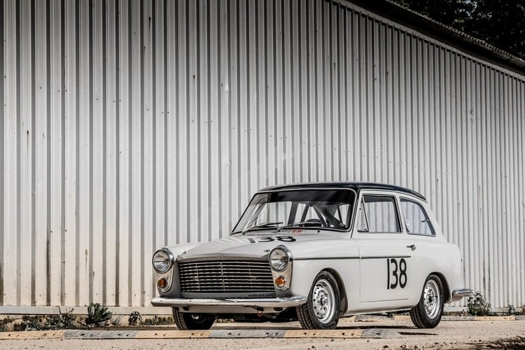 Championship Winning Austin A40 Restored To Former Glory For Silverstone Classic The Checkered