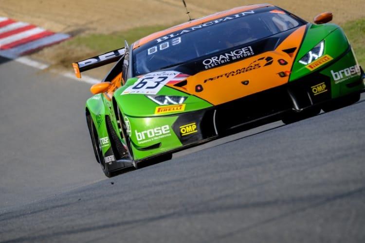 Blancpain GT 2018 - #63 Grasser Racint Team Lamborghini Huracan GT3
