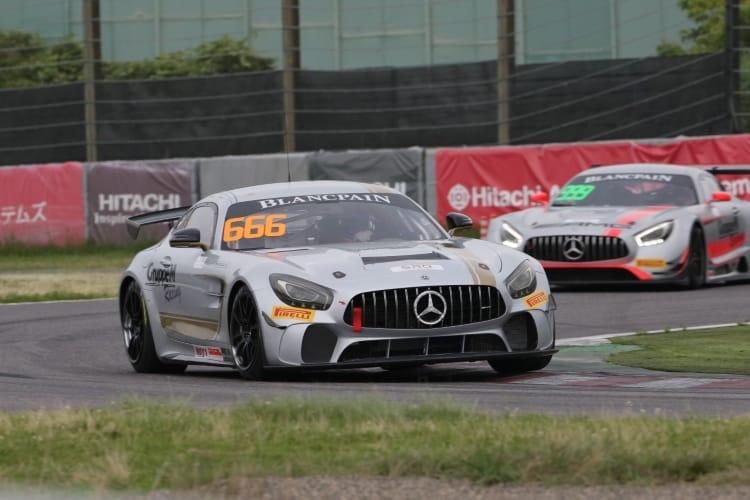 #666 GruppeM Racing Team Ryuichirou Ohtsuka Reinhold Renger Mercedes-AMG GT4 Suzuka 2018 | Blancpain GT Series Asia