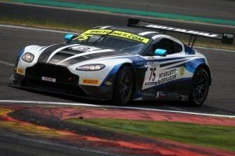 2018 British GT - Spa #75 Aston Martin V12 Vantage GT3