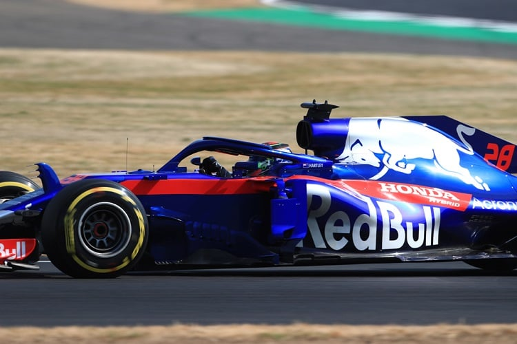 Brendon Hartley - Red Bull Toro Rosso Honda - Silverstone
