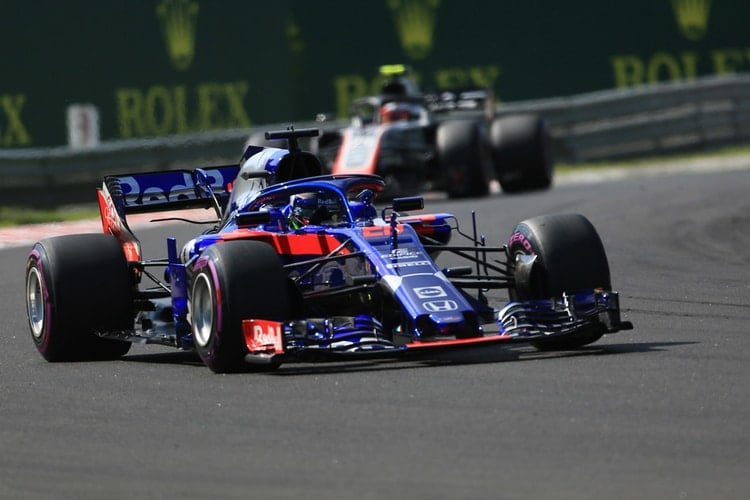 Brendon Hartley - Hungarian Grand Prix - F1