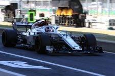 Charles Leclerc - Alfa Romeo Sauber F1 Team - Silverstone