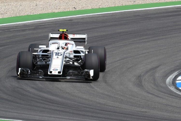 Charles Leclerc - Alfa Romeo Sauber F1 Team - Hockenheimring