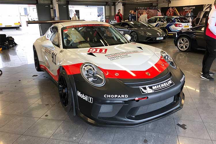 Chris Harris - Porsche Mobil 1 Supercup
