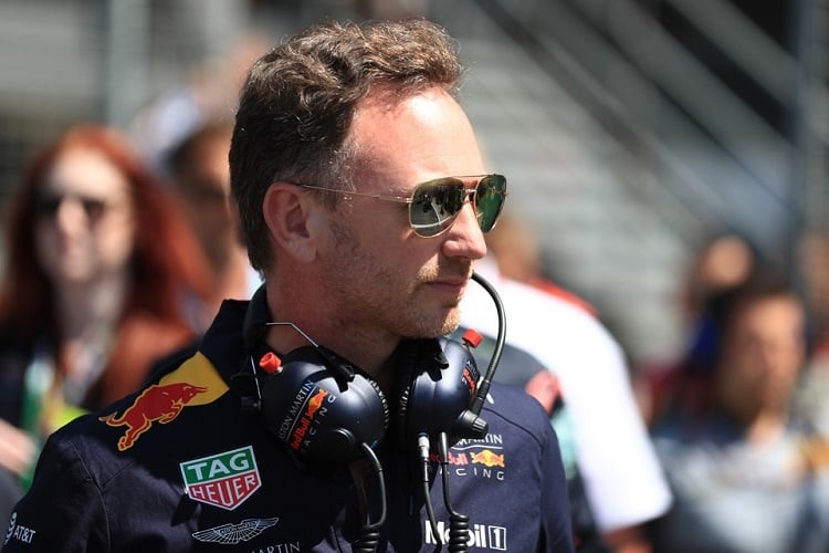 Christian Horner - Aston Martin Red Bull Racing - Silverstone