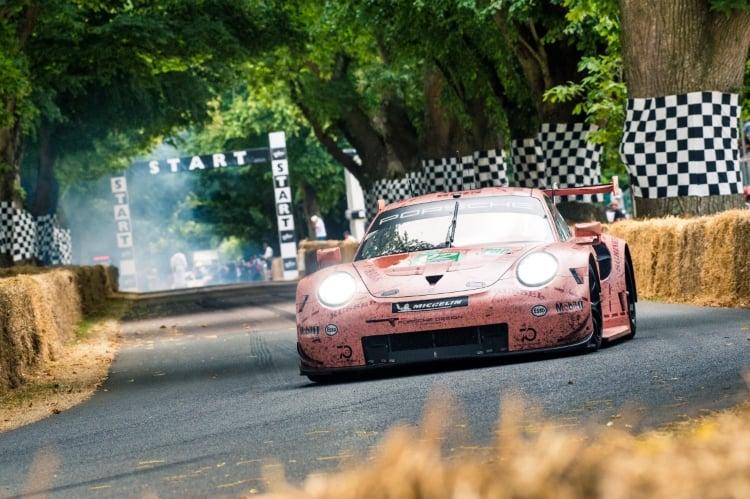 Goodwood FoS - 2018 Porsche 911 RSR 'Pink Pig'e