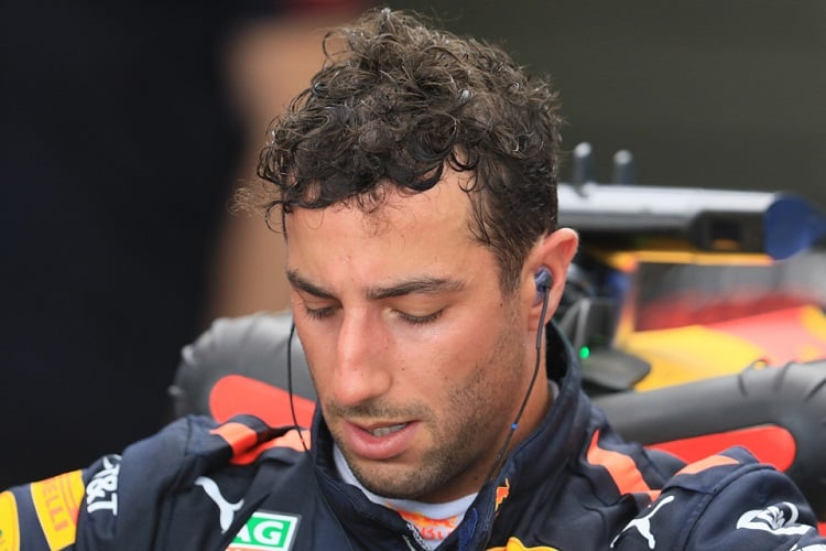 Daniel Ricciardo- Aston Martin Red Bull Racing- Hungaroring
