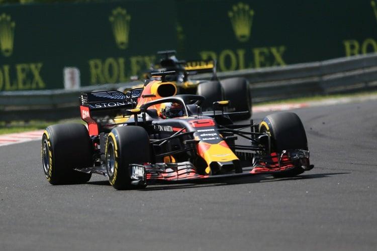 Daniel RIcciardo - Aston Martin Red Bull Racing - Hungaroring