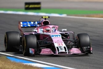 Esteban Ocon - Sahara Force India F1 Team - Hockenheimring