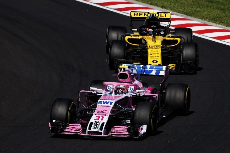 Esteban Ocon - Sahara Force India F1 Team - Hungaroring
