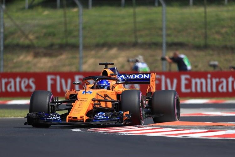 Fernando Alonso - McLaren F1 Team - Hungaroring