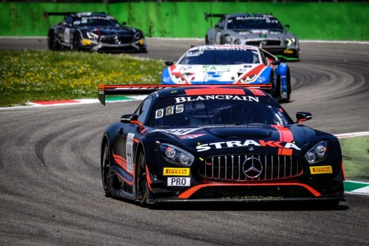 Blancpain GT 2018 - #44 Strakka Racing Mercedes-AMG GT3