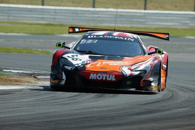 #58 Garage 59 GBR McLaren 650 S GT3 - Andrew Watson GBR Côme Ledogar FRA Ben Barnicoat GBR, Free Practice